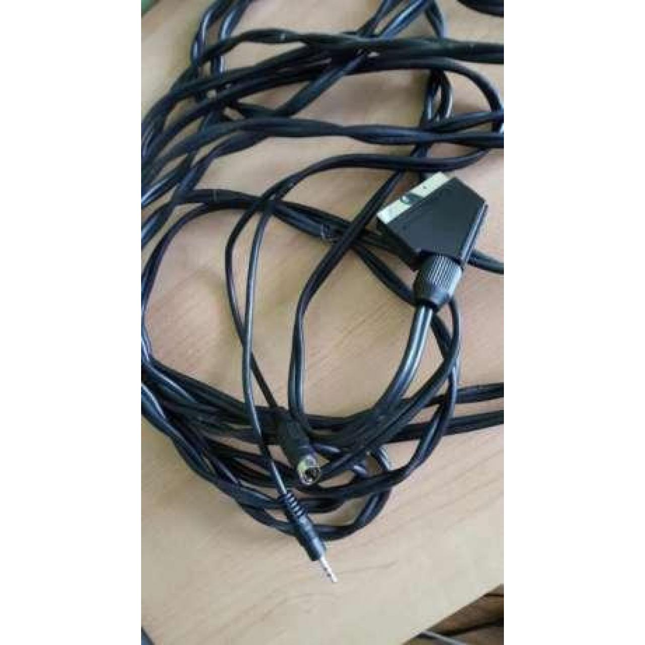 Kabel tv out s-video euro
