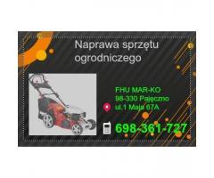 NAPRAWA sprzętu ogrodniczego spalinowego i elektrycznego