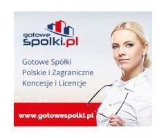 Gotowa Spółka Akcyjna , KONCESJA NA HANDEL PALIWAMI OPC 603557777