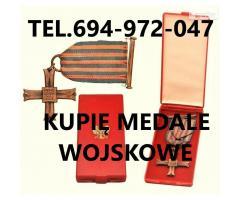 Kupie Wojskowe stare Odznaczenia,Odznaki,Medale,Ordery