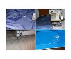 Szycie Pokrycia na lodzie, przedsionki kamping, parasole altany