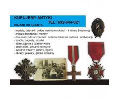 Kupię znaczki pocztowe, medale i odznaki wojskowe