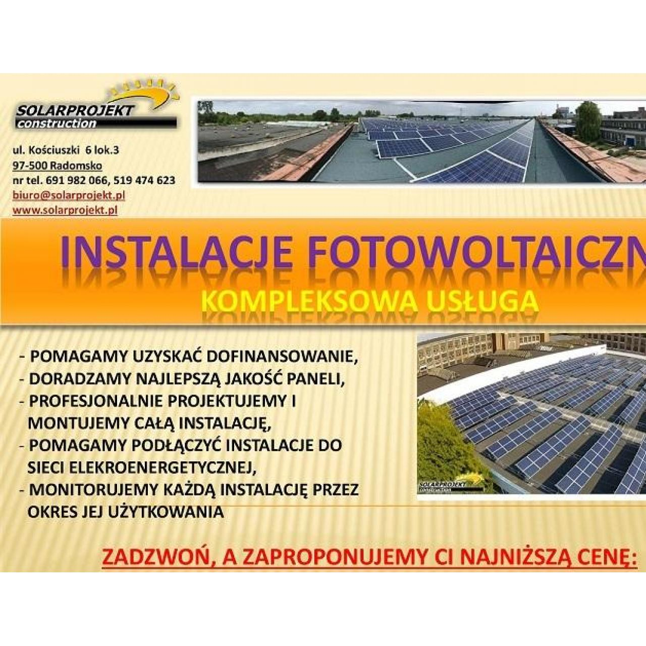 Panele Słoneczne - Kompleksowa Usługa