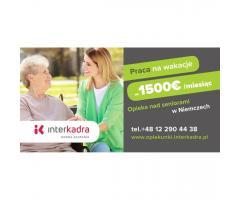 Opiekunka do Seniorki Erny z dodatkiem do 1500 EUR