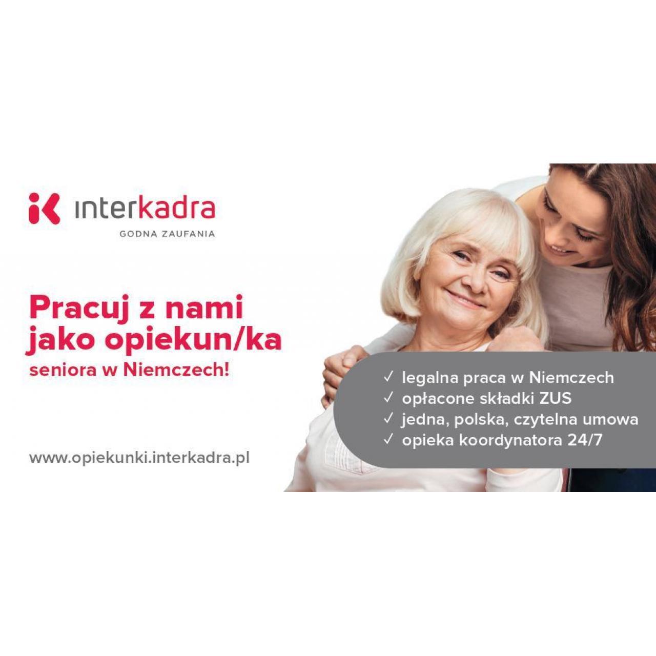 Opieka dla Seniorki Susanne, do 1400 EUR + PREMIA