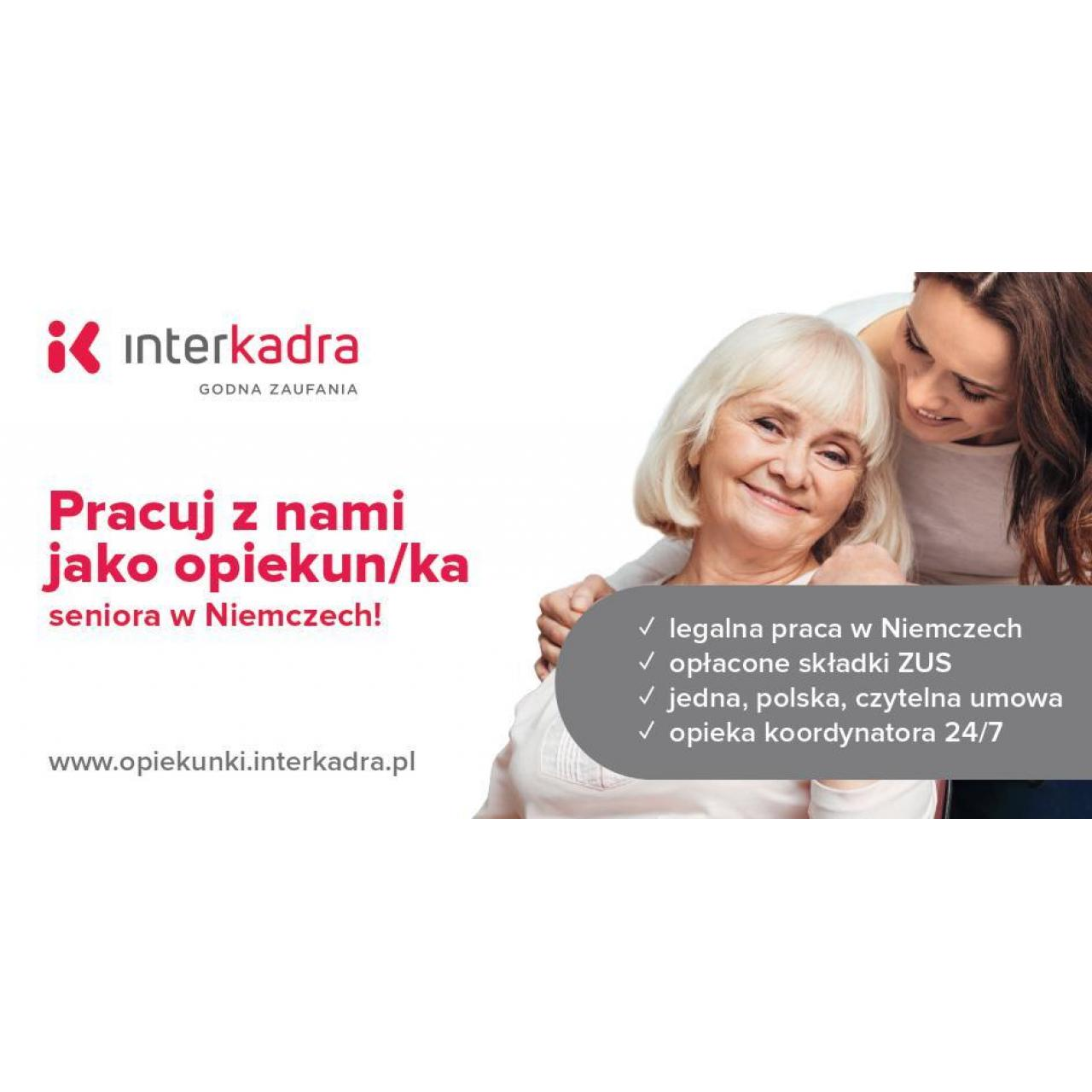 Opiekun/ka dla Seniorki Clary, do 1400 EUR + PREMIA