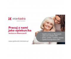 Zatrudnimy Opiekuna/kę dla Seniora Olafa, do 1400 EUR