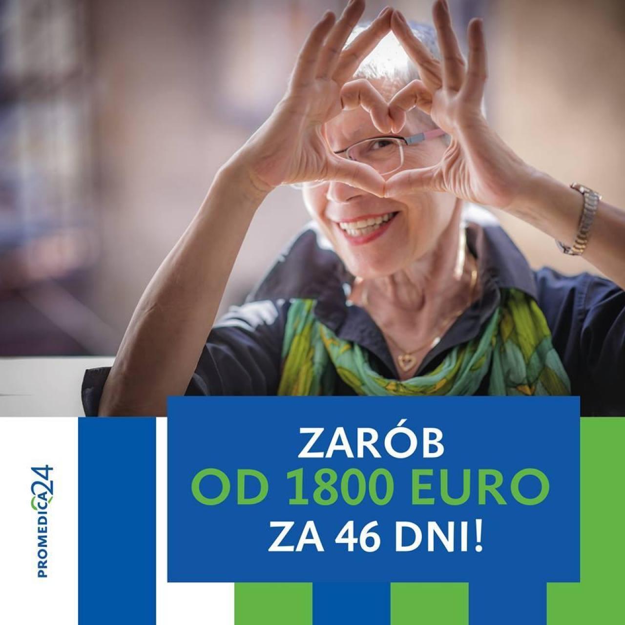 Opiekunka Seniora, Niemcy, bez języka!