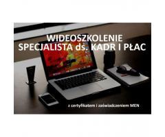 Kurs Specjalista ds. kadr i płac online