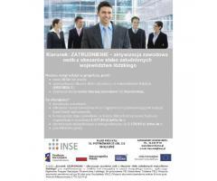 Kierunek: Zatrudnienie - aktywizacja zawodowa (projekt EFS)