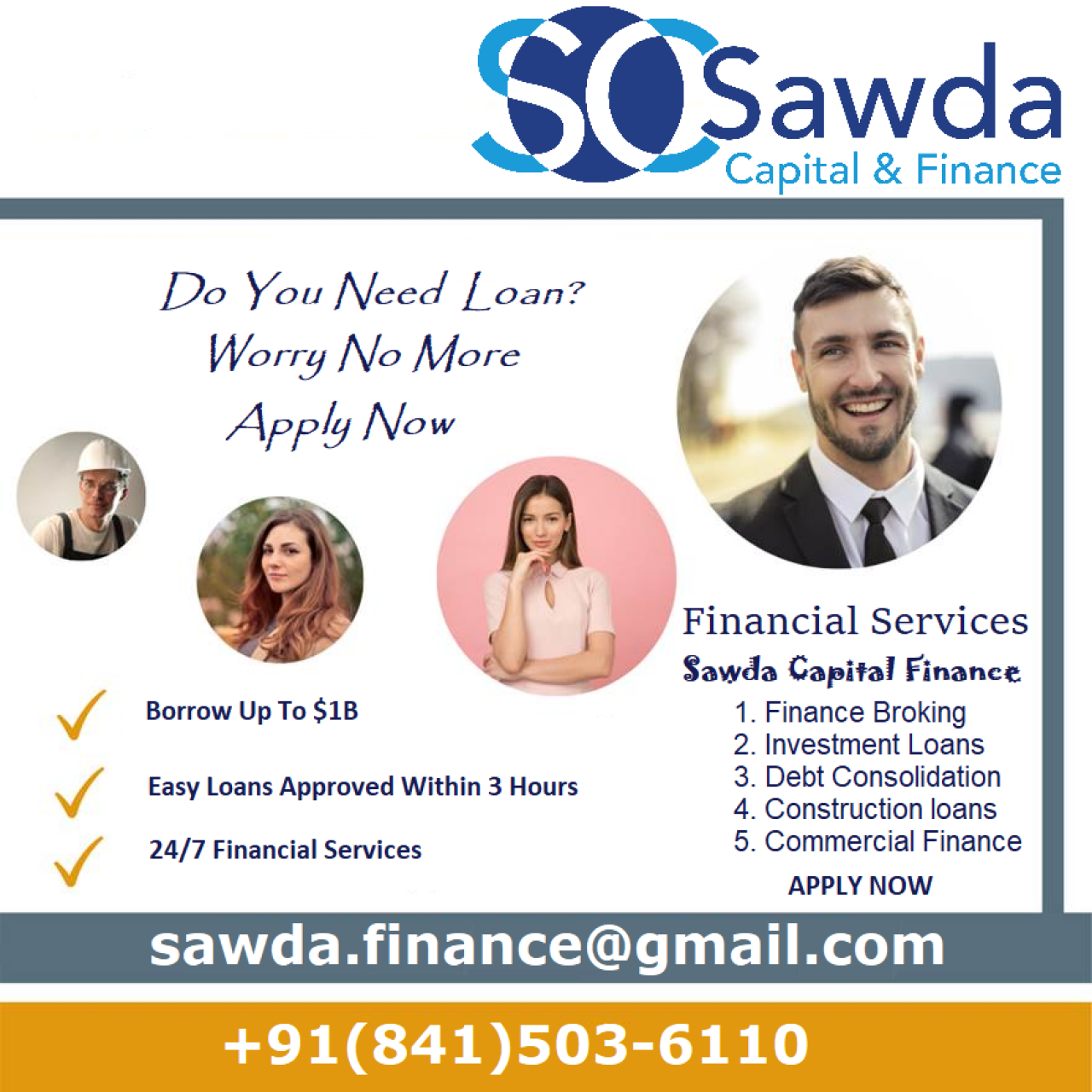 Are you in need of money ASAP?